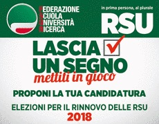 RSU la tua candidatura