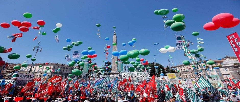 GRANDE MANIFESTAZIONE UNITARIA IL 9 FEBBRAIO A ROMA DI CGIL, CISL E UIL PER CAMBIARE LE SCELTE DEL GOVERNO
