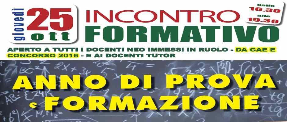 CORSO DI FORMAZIONE NEOASSUNTI - 25 OTTOBRE 2018 - SALA DEI RIFORMISTI  , 16.30-19.30
