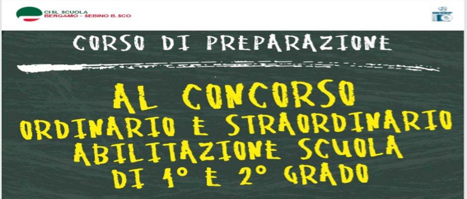 RETTIFICA CALENDARIO DEFINITIVO CORSO DI PREPARAZIONE CONCORSO