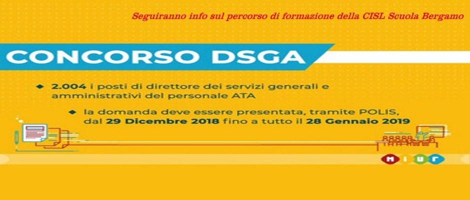 CONCORSO DSGA, IN GAZZETTA UFFICIALE IL BANDO. DOMANDE ON LINE DAL 29 DICEMBRE AL 28 GENNAIO