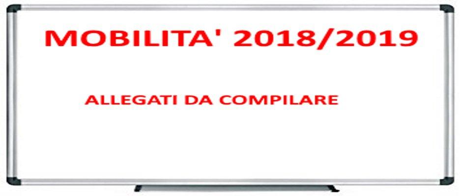 ALLEGATI MOBILITA' 2018