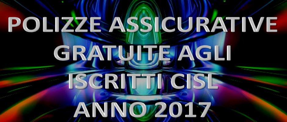 POLIZZE ASSICURATIVE GRATUITE AGLI ISCRITTI 2017