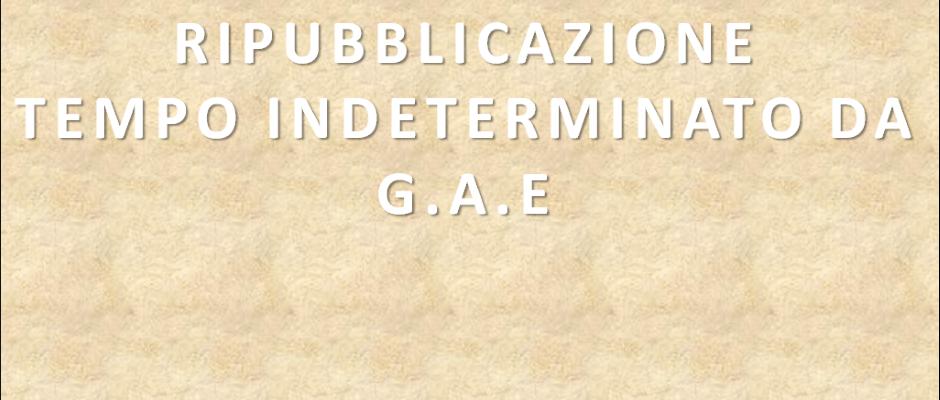 RIPUBBLICAZIONE CALENDARIO CONVOCAZIONI PER NOMINE A TEMPO INDETERMINATO SCUOLA INFANZIA, PRIMARIA DA G.A.E. – A.S. 2016/17