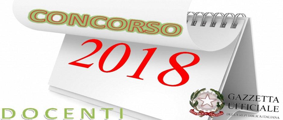 CONCORSO RISERVATO SC. SECONDARIA: IL BANDO PROSSIMO IN GU. DOMANDE DAL 20.2 AL 22.3