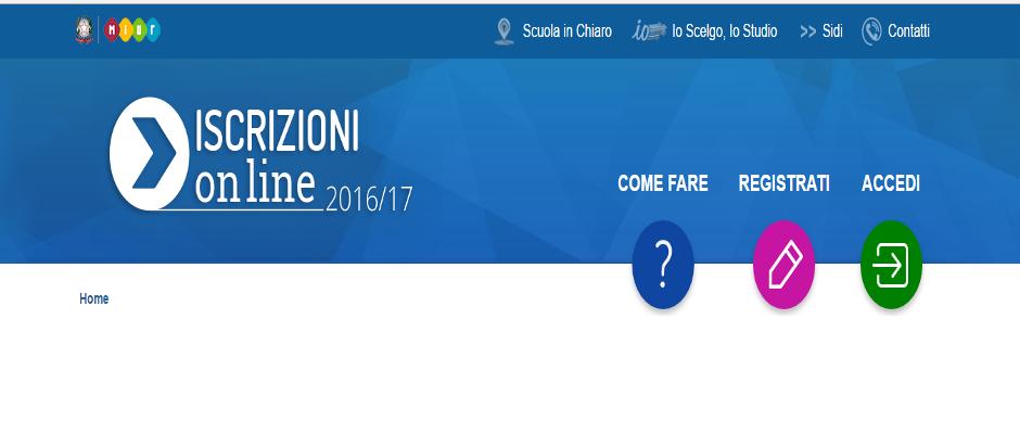 ISCRIZIONI 2017-18, LA CIRCOLARE. FUNZIONI APERTE DAL 16 GENNAIO AL 6 FEBBRAIO 2017