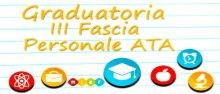 Graduatorie ATA terza fascia