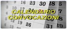 Calendario convocazioni