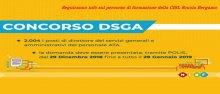 Concorso DSGA corso di formazione CISL Scuola Bergamo