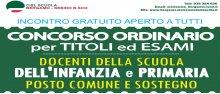 Concorso Ordinario CISL Scuola Bergamo