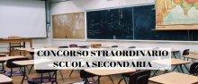 Concorso straordinario scuola secondaria
