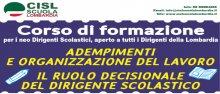 Convegno DS Cisl Scuola Bergamo