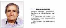 Danilo Gotti Cordoglio