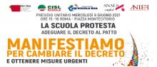 Manifestazione sostegni