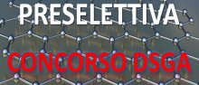 Preselettiva concorso DSGA