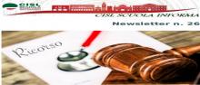 Newsletter 26 _ ricorso  avverso decreto n.497 e n.510