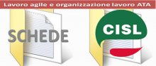 Schede CISL Scuola su lavoro agile e organizzazione lavoro ATA