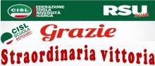 Straordinaria vittoria alle elezioni RSU Bergamo CISL Scuola