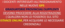 Graduatorie Provinciali supplenti