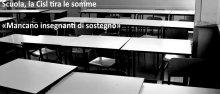 Eco di Bergamo, mancano insegnanti di sostegno