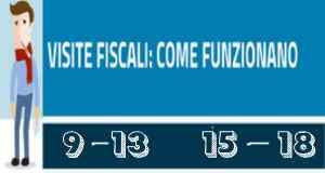 Visite fiscali come funzionano